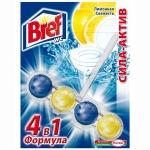 Освежитель для унитаза BREF Сила-Актив Лимонная свежесть 51гр