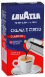 Кофе молотый 250 г, LAVAZZA CREMA E GUSTO