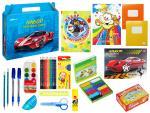 Набор первоклассника 25 предметов в подарочной коробке, SUPER CAR