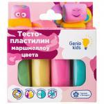 Набор для детской лепки «Тесто-пластилин 4 цвета. Маршмеллоу цвета»