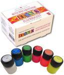 Акрил набор 6 цветов/20 мл флуоресцентный, DECOLA