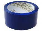 Клейкая лента (скотч) 48 мм х 66 м, синяя