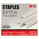Скобы для степлера №23/17, 1000 шт, M&G