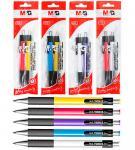 Набор ручек шариковых, автоматических, 2 шт в блистере, YOKIS M&G