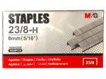 Скобы для степлера №23/8, 1000 шт, M&G