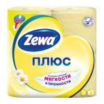 Бумага туалетная ZEWA Плюс ароматизированная Ромашка 2 слоя 1х4 рул