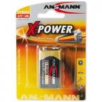 Батарейка 6LF22 Alkaline Xpower 9V