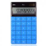 Калькулятор 12-разрядный, синий, Deli 1589