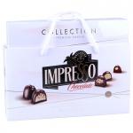 Конфеты 0,424 кг в наборе, белый дизайн, IMPRESSO