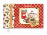 Книга для записи кулинарных рецептов 220x136, Чаепитие