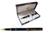 Ручка роллер синяя в футляре, Crocodile 502син.80.1