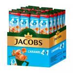 Кофе растворимый 4 в 1, 12 г, JACOBS CARAMEL, со вкусом карамели