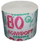 Бумага туалетная без втулки Комфорт оптима 80