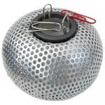 Подставка для скрепок металлическая, серебро