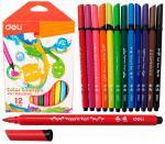 Фломастеры 12 цветов, Color Emotion