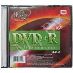 Диск DVD+R 4,7Gb 16x Slim