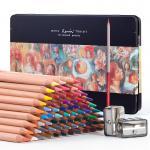 Художественные карандаши Marco «RENOIR FINE ART», 72 цвета, в металлическом пенале