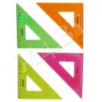 Треугольник 45*12 флюоресцентный прозрачный