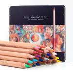 Художественные карандаши Marco «RENOIR FINE ART», 24 цвета, в металлическом пенале