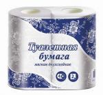 Бумага туалетная Veiro белая 2-х слойная 4 шт