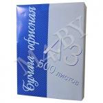 Бумага А3, 500 л., 80 г/м², Офисная 01 ВК