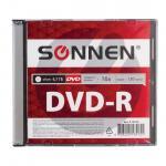 Диск DVD-R 4.7Gb 16x Slim case