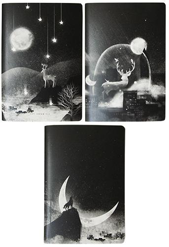 Блокнот А5 80 листов обложка ПВХ LET IDEAS FLY M&G арт. APY4BH85