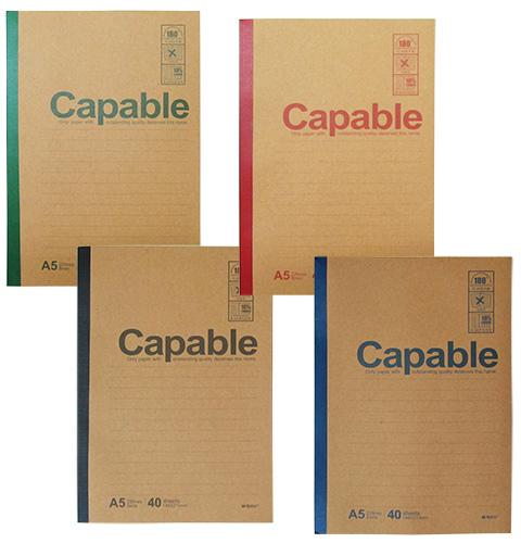 Блокнот А5 40 листов CAPABLE линейка M&G арт. APYJQ550