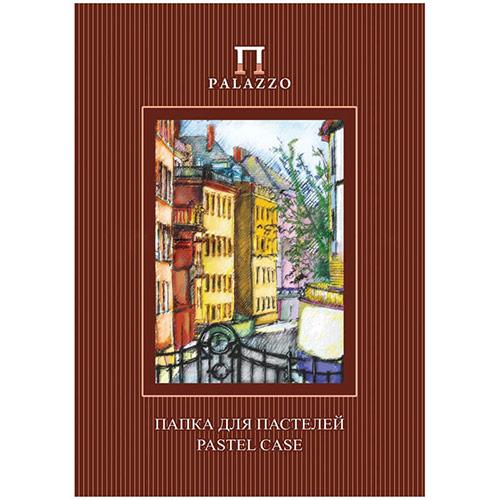 """Папка для пастелей 10л. А4 Лилия Холдинг """"Палаццо. Италия"""", 280г/м2, рисов. бумага, слоновая кость"""