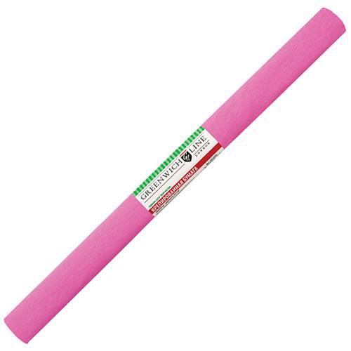 Бумага креповая 50х2,5 розовая, GREENWICH LINE