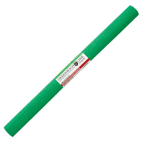 Бумага креповая 50х2,5 зеленая, GREENWICH LINE