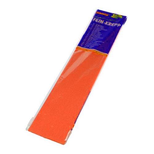 Бумага креповая 50х2,5 оранжевая