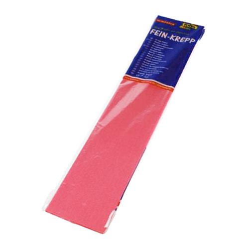 Бумага креповая 50х2,5 розовая