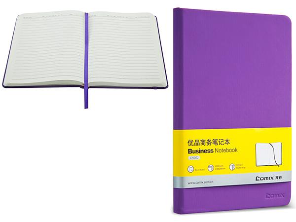 Ежедневник 122 л., 138х206 мм, фиолетовый, на резинке