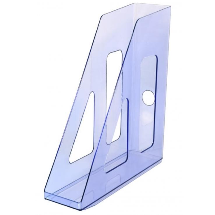 Лоток вертикальный тонированный, голубой, АКТИВ, СТАММ