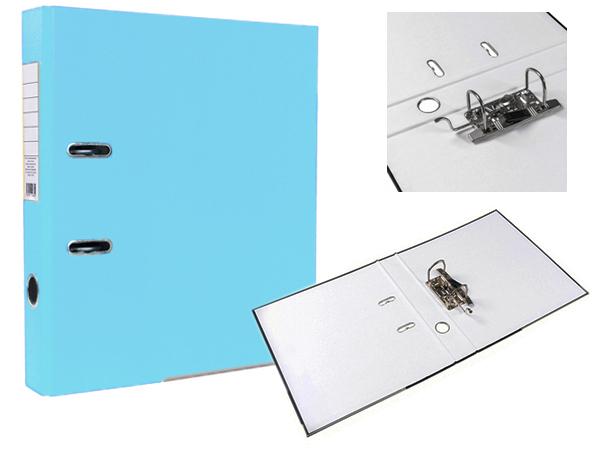 Регистратор А4, 75 мм, светло-голубой, ЭКО