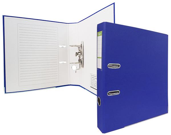 Регистратор А4, 50 мм, ПВХ, синий, ЭКО YesЛи