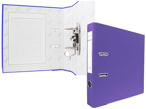Регистратор А4, 50 мм, полипропилен, фиолетовый