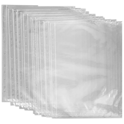 Файл А4, вертикальный, глянцевый, 100 шт/уп