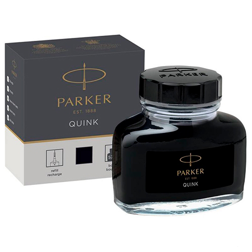 Чернила в бутылке черные 57 мл