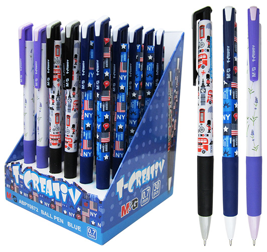 Ручка шариковая M&G T-CREATIV арт. 0872ABPY