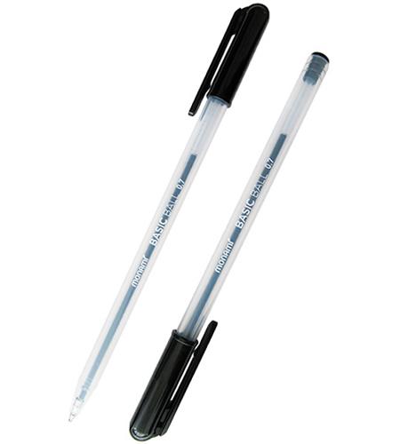 Ручка шариковая MonAmi черный стержень BASIC