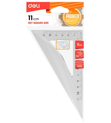 Треугольник 11 см в блистере (30х60х90)