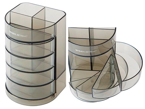 Подставка для канцелярских принадлежностей, пластиковая, 7 отделений