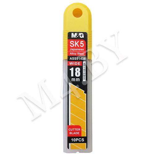 Лезвия для ножа 18 мм, 10 шт., M&G