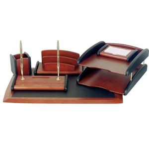 Набор деревянный 6 предметов красное дерево
