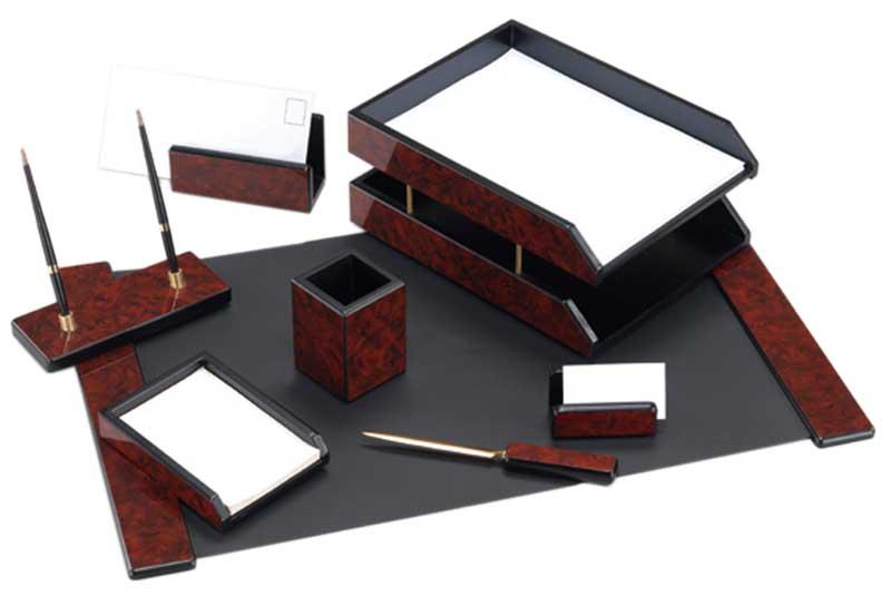 Набор деревянный 8 предметов махагон
