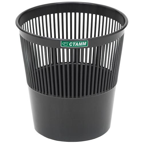 Корзина для бумаг 9 литров черная