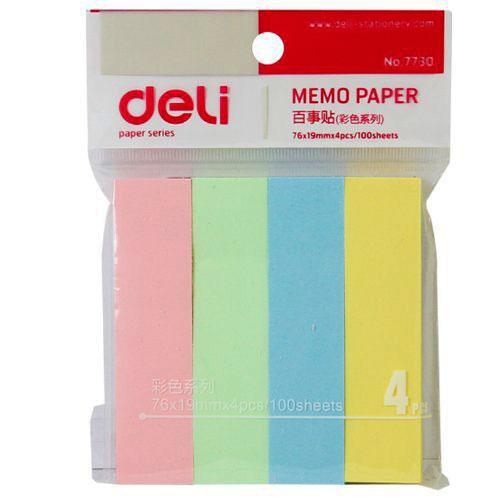 Блок для заметок с липким слоем 19*76 100 листов