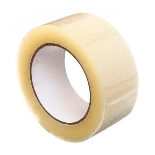 Клейкая лента (скотч) прозрачная, 48 мм х 150 м